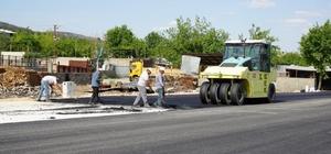 3. Çevreyolunda asfalt çalışması