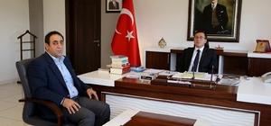 TÜMSİAD başkanı Gümüş'ten Rektör Kızılay'a ziyaret