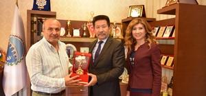 TÜRKSOY Temsilcileri'nden Başkan Arslan'a ziyaret