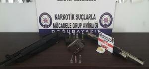 Ağrı'da uyuşturucu operasyonu: 5 gözaltı