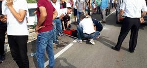 Demre'de öğrenci servisi kaza yaptı: 5 öğrenci yaralı
