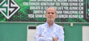 """Sakaryaspor Başkanı Gürses: """"Üst lige çıkarsak Sakaryaspor örnek kulüplerden biri haline gelecek"""""""