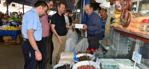 Kumluca'da gıda denetimleri