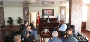 Başkan Bedirhanoğlu, muhtarlarla bir araya geldi