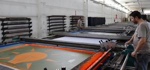 """Tekstil tezgahlarında """"seçim"""" yoğunluğu"""