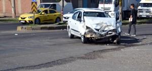 Siverek'te trafik kazası: 2 polis, 1 uzman çavuş yaralı