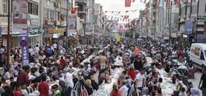 Dörtyol'da 10 bin kişilik iftar sofrası kuruldu