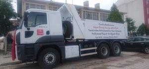 Türkiye Belediyeler Birliği, Aslanapa Belediyesi'ne kamyon hibe etti