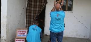 Elazığ'da ihtiyaç sahiplerine 600 gıda kolisi gönderildi