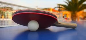 Aydın'da kuruluşlar arası masa tenisi turnuvası başlıyor