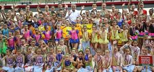 Minik cimnastikçiler Karşıyaka'da yarışacak