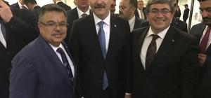 Başkan Can, İçişleri Bakanı Soylu ile bir araya geldi