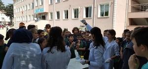 DÜ'den ortaokul öğrencilerinin fen bilimlerine ilgisini artıran proje