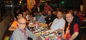 Galatasaraylılar iftarda bir araya geldiler