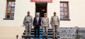 Jandarma Genel Komutanı Orgeneral Çetin, Kars'ta