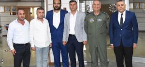 7. Ana Jet Üs Komutanı Albay Kanbur'dan MTSO'ya ziyaret
