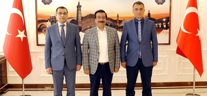 Lice ve Bismil'den Başkan Atilla'ya Ziyaret