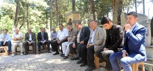 Hafız Ali Efendi mezarı başında anıldı Kahramanmaraş'ta eski müftü Hafız Ali Efendi, ölümünün 51. yıl dönümünde mezarı başında anıldı
