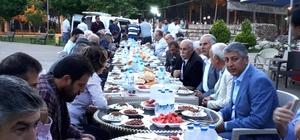 Türkav'ın iftarında MHP ve Kamu-Sen üyeleri bir araya geldi