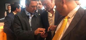 Fenerbahçe'nin başkan adayı Ali Koç Tekirdağ'da