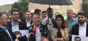 """HDP eş başkanlarına Edirne'de büyük şok, 5 kilometre yaklaştırılmadılar HDP Eş Genel Başkanı Pervin Buldan: """"Demirtaş için TRT'ye başvuru yaptık"""""""