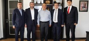 Vergi Dairesi Başkanı Tunalı, ASKON üyesi iş yerlerinde incelemede bulundu