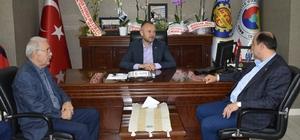Başkan Demirtaş, TSO' yu ziyaret etti
