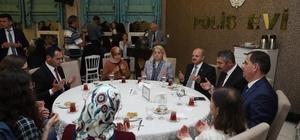 Şehit aileleri ve gaziler için iftar programı düzenlendi