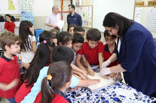 Minik öğrencilere el yıkama alışkanlığı aşılanıyor
