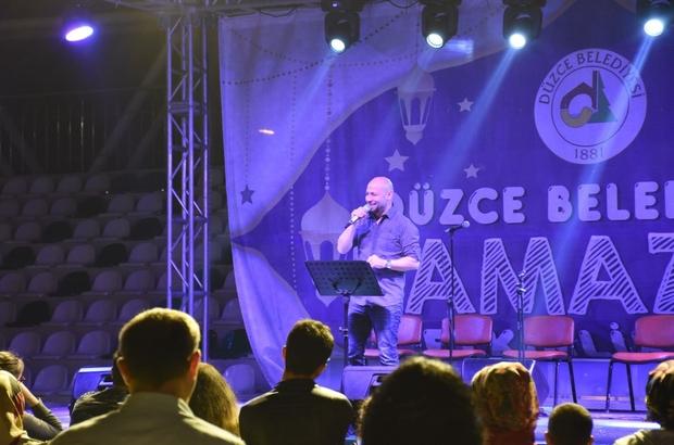 Karaman Tazeoğlu, Düzcelileri büyüledi