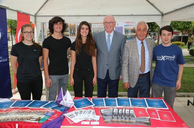 Bilim Şenliği'nde solucan gübresi projesi Odunpazarı Belediyesinin de çalışma yürüttüğü solucan gübresi, Bilim Şenliği'nde büyük ilgi gördü