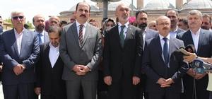"""AK Parti Konya'da seçim çalışmalarına Mevlana Meydanı'ndaki programla başladı AK Parti Genel Başkan Yardımcısı Ahmet Sorgun: """"Türkiye de bu küresel egemen güçlerin hedefleri arasında"""" """"Asrın seçimi diyoruz biz buna, aynı zamanda ilklerin de seçimi"""""""