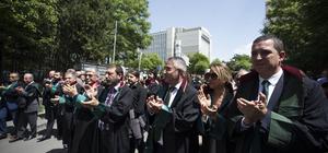 Ankara Barosundan HSK önünde açıklama
