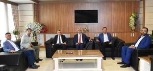 Başkan Polat'tan MTSO'ya ziyaret