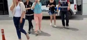 Kuşadası'nda otele fuhuş operasyonu: 5 gözaltı Kuşadası'nda 3 yabancı uyruklu hayat kadını, otel sahibi ve resepsiyon görevlisi gözaltına alındı