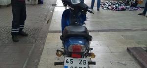 Kuşadası'nda çalıntı motosiklet yakalandı