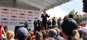 CHP'nin cumhurbaşkanı adayı İnce, Dumlupınar'da