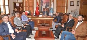 Başkan Can'a hayırlı olsun ziyaretleri devam ediyor
