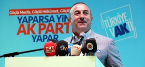 """Bakan Çavuşoğlu'ndan Muharrem İnce'ye yerli otomobil cevabı Dışişleri Bakanı Mevlüt Çavuşoğlu: """"Biz yerli milli diyoruz, biri çıkmış yerli ve milli otomobili çöpe atacağız diyor"""" """"Senin buna gücün yetmez, hayalin de yetmez. Senin iktidar olma gibi bir derdin yok"""""""