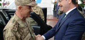 Jandarma Genel Komutanı Arif Çetin, Iğdır'da