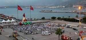 Hatay Büyükşehir Belediyesi İskenderun'da iftar verdi