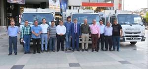Nazilli Belediyesi yeni araç filosuyla daha güçlü