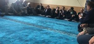 Başkan Epcim Özdinç ailesinin taziyesine katıldı