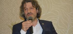 """Atmaca: """"Silahla yapamadıklarını bugün ekonomik yaptırımlarla  yapmak istiyorlar"""" TÜMSİAD Trabzon Şube Başkanı Mehmet Atmaca: """"24 Haziran seçimlerinde Cumhur İttifakına destek olacağız"""" """"Ekonomik alanda ülkeyi dar boğaza sürükleme çabaları var"""""""