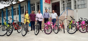 Rehabilitasyon merkezinde bisiklet mutluluğu