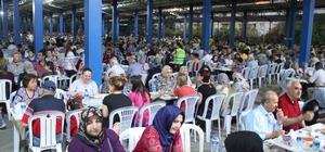 Nazilli Belediyesi iftarda 10 bin kişiyi ağırladı