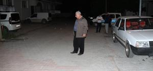 Konya'da sahurda açılan ateş sonucu iki araç zarar gördü