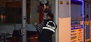 Malatya'da bir iş yeri kurşunlandı