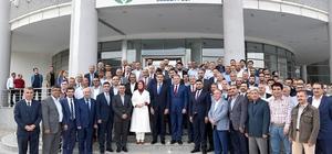 AK Partili adaylar Polat'ı ziyaret etti