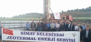 Simav'a yeni jeotermal kuyusu